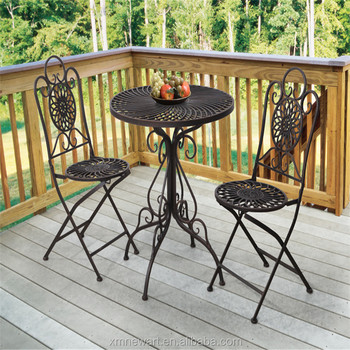 Garden Treasures Waterproof Cast Iron Patio Furniture