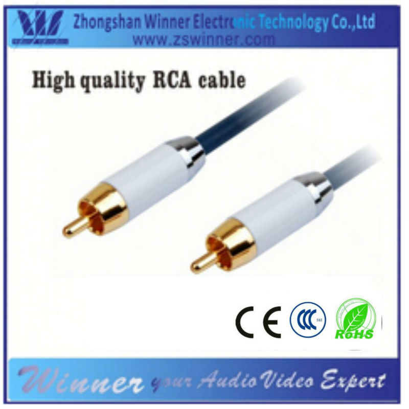 24 gold plated 30-pin to rca cable