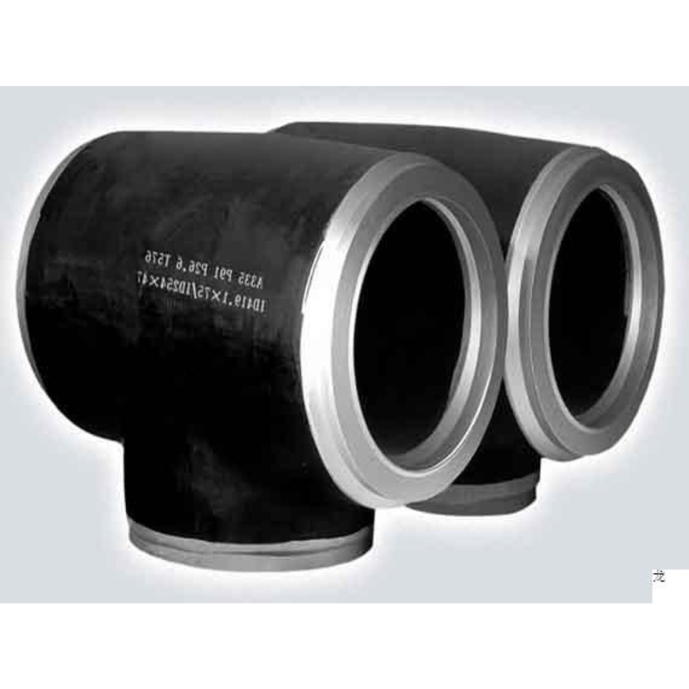 carbon steel pipe fittings water wasting main tee