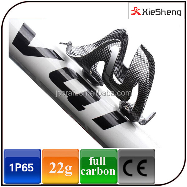 outdoor high quality light weight and strong mountain bicycle full carbon water bottle cage