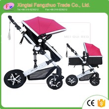 China baby stroller factory / free kids stroller with big wheels / EN1888 approved luxury baby pram
