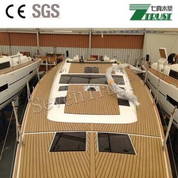 2018 Pvc Foam Faux Teak Sheet Marine Flooring Boat Yacht Sails Deck  Flooring Decking Mat - Buy Boat Deck Mats,Outdoor Play Mats,Best Outdoor  Mat