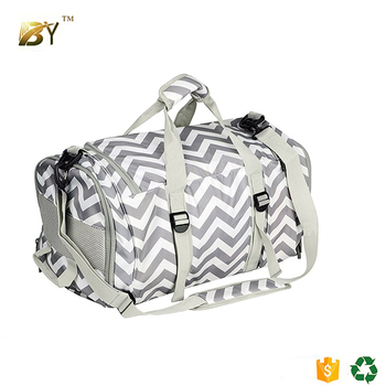 e4a2b957f3f8 BINYI Duffle Bag Sports Gym Travel Luggage Including Shoes Compartment Women    Men