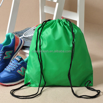 13563e9efe2c Waterproof Drawstring Back Pack Gym Tote Bag School Sport Shoe Bag ...
