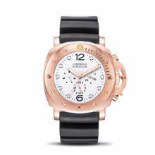 KIMSDUN военные мужские спортивные часы Montre Homme Роскошные автоматические механические часы для мужчин все Subdials работа водонепроницаемый Clcok(Китай)