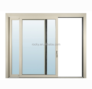 Indian window design latest aluminum window with grill