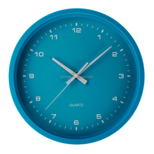 High quality 11 inch wall clock with silicone paint 2017