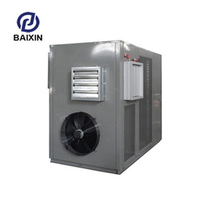 The automatic cold and hot air hair dryer coconut powder dehydration machine flakes drying luggage bag parts