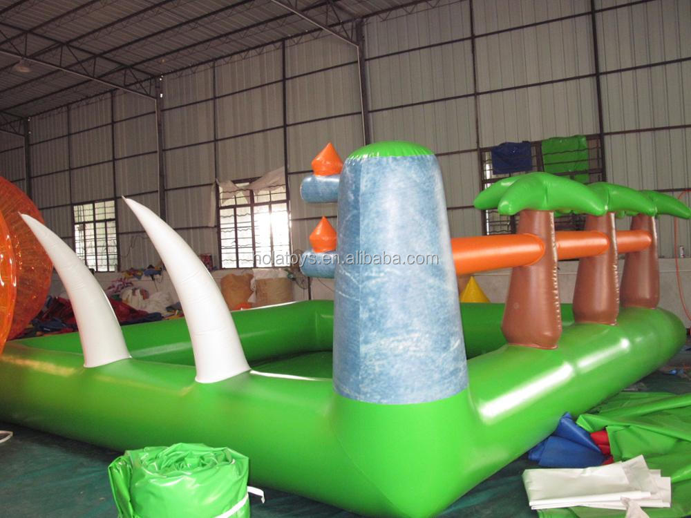 Custom green inflatable pool/inflatable swimming pool for sale