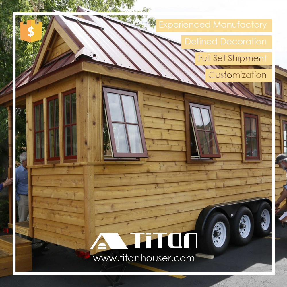 Titan gros pr fabriqu petite maison studio sur roues maisons pr fabriqu es id de produit for Prefabrique maison