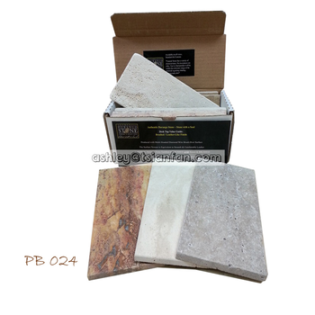 custom small cardboard display boxes /quartz marble stone samples display boxes PB024