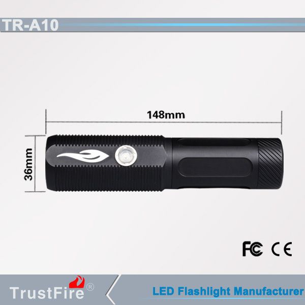 TrustFire flexible flashlights A10 Led light,waterproof emergency light flashlight,led spotlight rechargeable torch