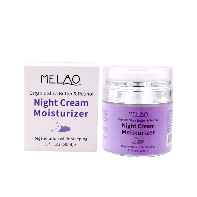 Private Label Moisturizing Nourishing whitening Organic Shea Butter Night Face Cream