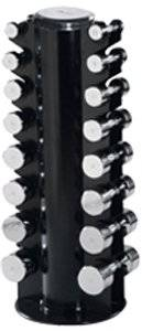 Chrome Dumbbell Club Pack (Includes Rack - 69001)