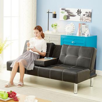 Single Chair Sofa Bed, Modern Sofa Cum Bed Design, Two Seat Dunlop Wooden  Sofa