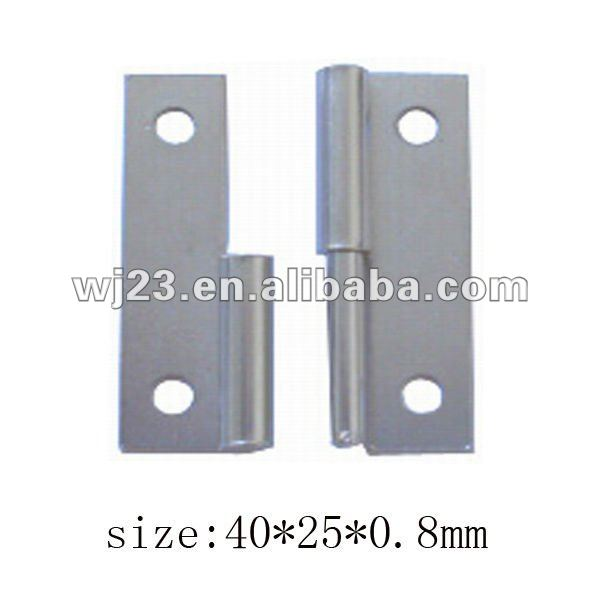 Flag pole hinge