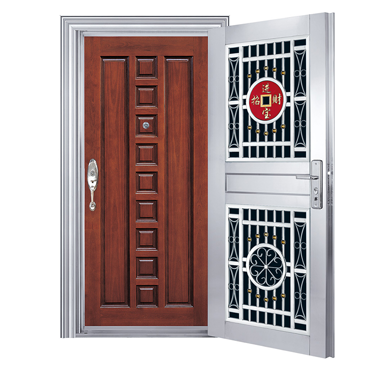Home Front Steel Door Double Protection Stainless Steel Grill Door Design View Grill Door Design Ditusi Product Details From Foshan Nanhai Ditusi