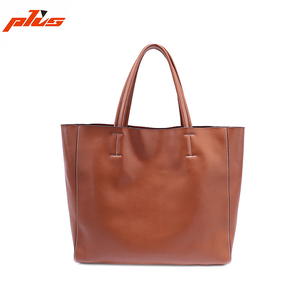 2017 China Guangzhou Designer Women Tote Handbag Made of Genuine Leather