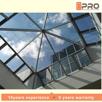 Modern Rain Proof Polycarbonate Skylight Roofing Roof