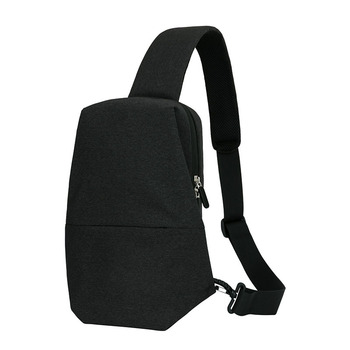 f32a7d42c6 Custom single strap backpack travel waterproof black sling bag messenger bag  for men