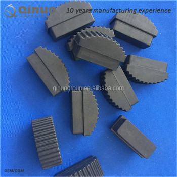 Qinuo manufactory custom products ladder rubber feet with cheap price