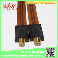 2017 New product flat coaxial cable under carpet with CE certificate