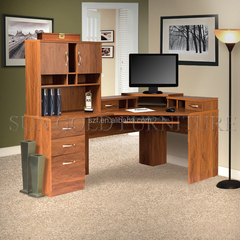 High End Household Working Table Computer Desk With Filing