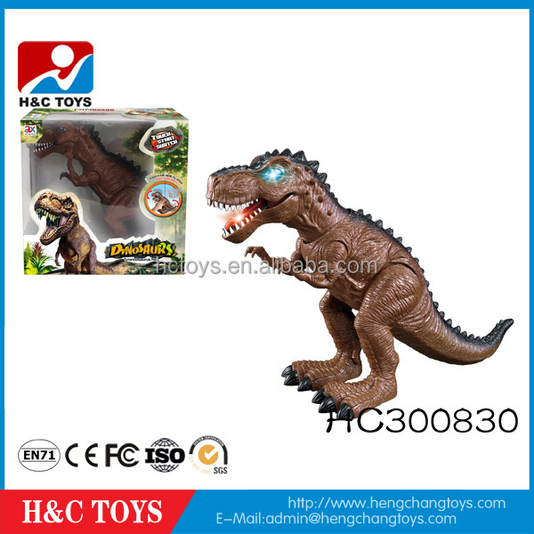 Popular 2016 hot sale battery operated touch plastic dinosaur toys HC300830