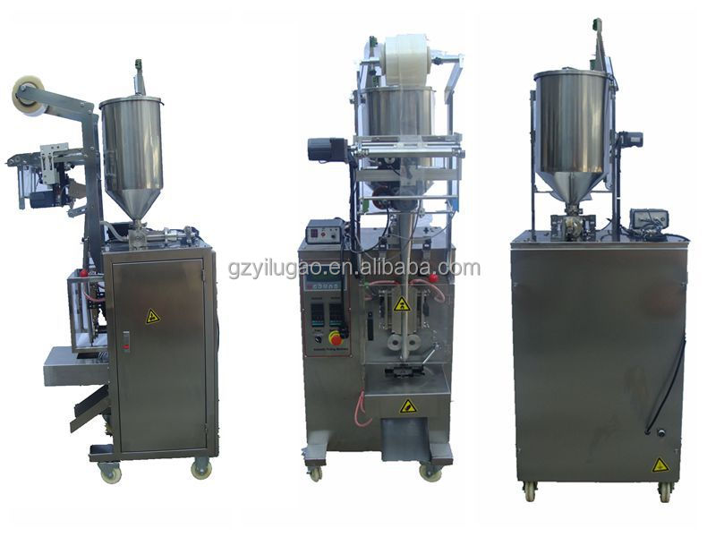 Automatic vinegar/ olive oik/ cooking oil / honey/ juice stick packing machine
