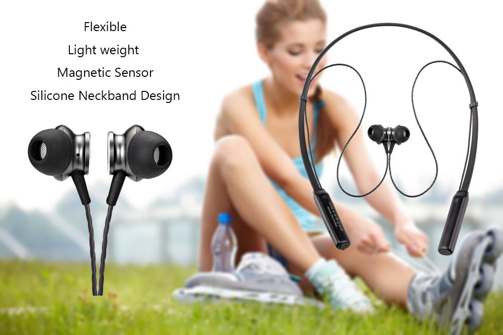 BT 4.1 noise cancelling CSR8635 Neckband New hot Sprots Bluetooth Bass Headset 3D Wireless Headphone CE RoHS FCC Certification