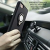 2017 Innovative Products Soft Rubber Car Holder Phone Case For iPhone 7 With Ring Holder