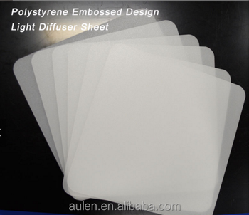Lgp Paper For Led Panel 3mm Thickness Light Diffuse Evenly Ceiling Cover Plate