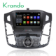 "Krando Android 7.1 8""car stereo for ford for focus 2012-2015 car dvd player with gps radio TV wifi OBD DAB+ KD-FF812"