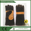 LJ-SMT1602 Chrome heat resistance leather welding hand gloves