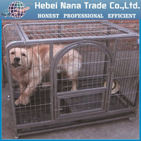 Factory whosale dog cage / animal wire mesh cages / large steel dog cage