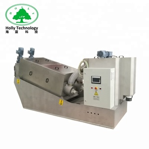 New technology screw press sludge dewatering industrial equipment