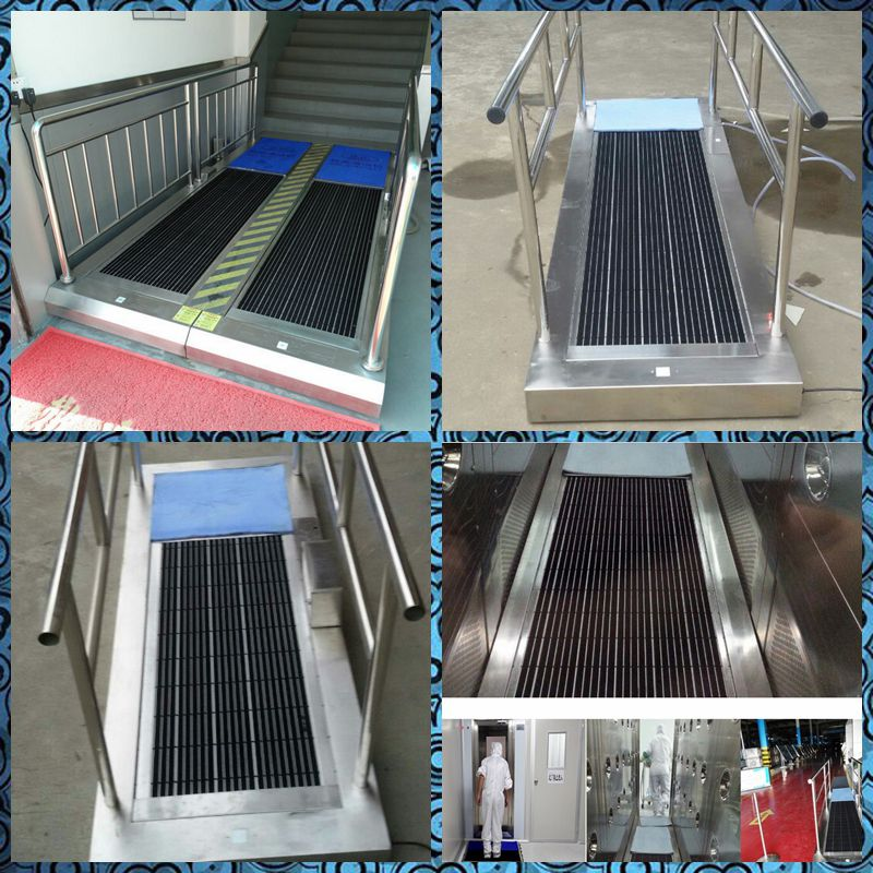 Sole Cleaning Machine for Cleanroom