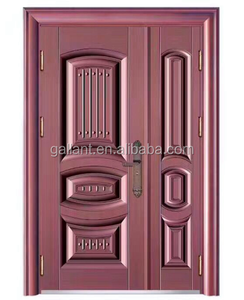Low price bullet proof exterior steel security door