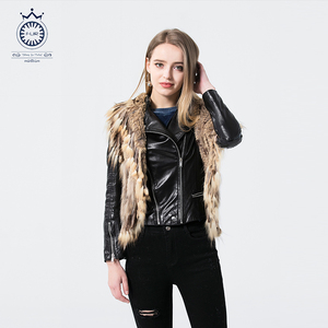 High Quality Popular Warmly Natural Rabbit Fur Women Vest