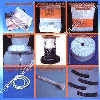 excellent absorbability long service life and non-knot fiberglass wick