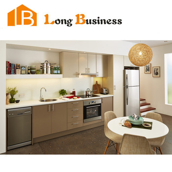 Hot selling waterproof mdf kitchen cabinet with hpl for Kitchen set hpl