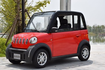 Cheap Price 4 Seat Electric Mini Car 4 Wheels 2 Doors On Sale Vacuum