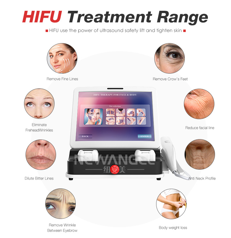 Intelligent system 3D HIFU machine beauty machine skin rejuvenation hifu