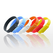 2015 Best Sale Cheap Promotional Gift usb flash drive wristband 4gb 8gb wholesale