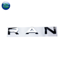 Wholesale OEM Painted&Plated Type And Stick Style Custom Embossed Circle Plastic/Metal Car Label