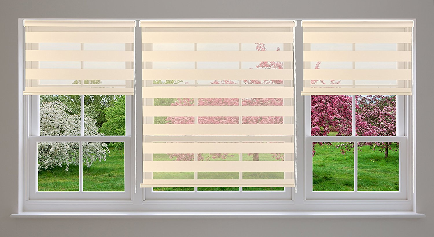 double melbourne large blinds quality roller space window livingroom over