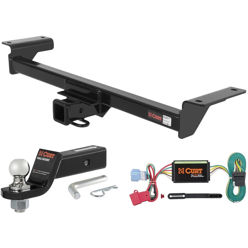 "CURT Class 3 Trailer Hitch Tow Package with 1-7/8"" Ball for 2007-2009 Acura RDX"