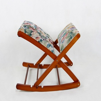Foldable Rocking Chair Footstool/Wooden Footrest