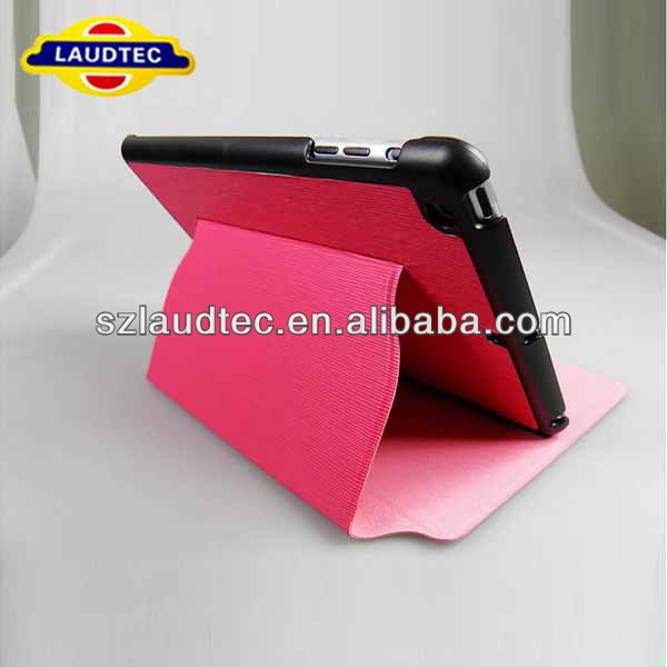 Book PU Flip Stand Cover Perfect Fit for iPad Mini
