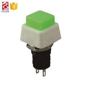 Factory 2 pin Momentary type OFF-(ON) switch 1A 250VAC push switch
